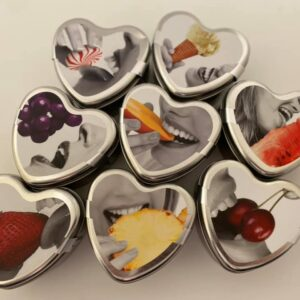 Edible Heart Candles